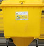 Clinical Waste – Wheelie Bins